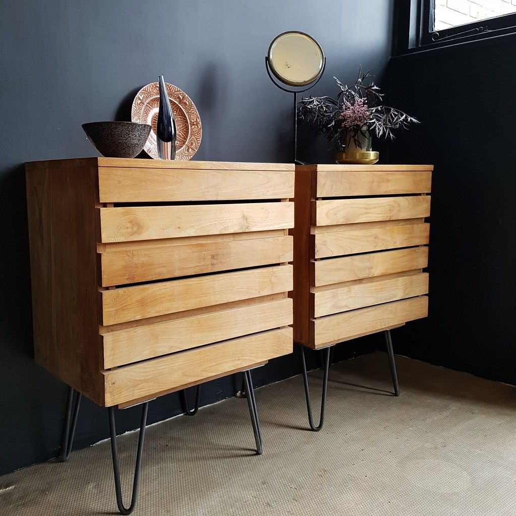 Chest Of Drawers On Hairpin Legs